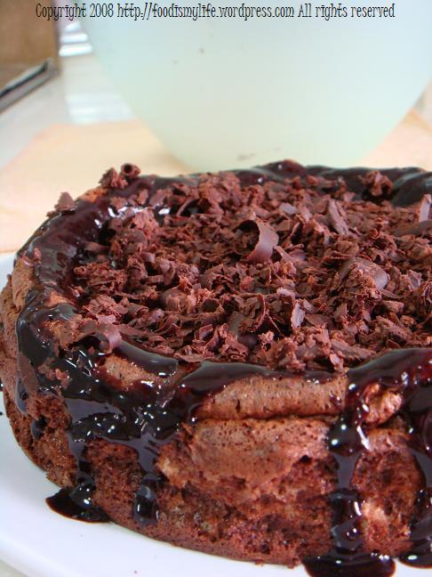Ugly Chocolate Cake title