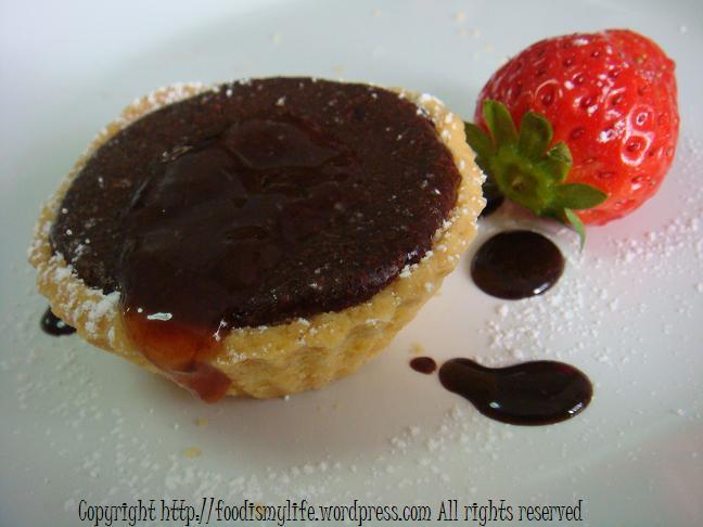 Dark Chocolate Tartlets