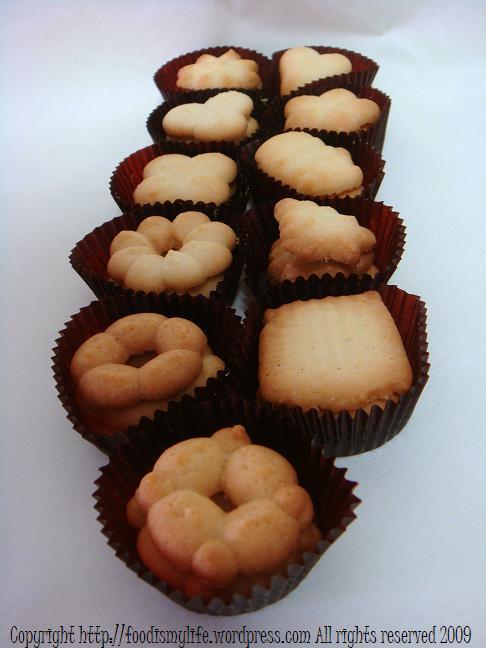 Classic Spritz Cookies - full array