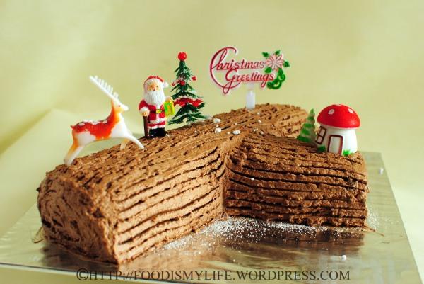 Chocolate Jelly Roll Cake Recipe Easy