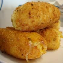 Potato-Mozzarella Croquettes