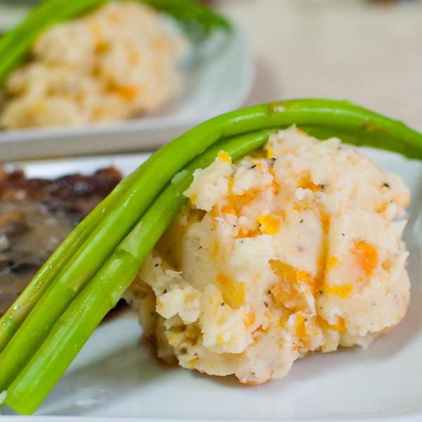 Potato-Carrot Mash